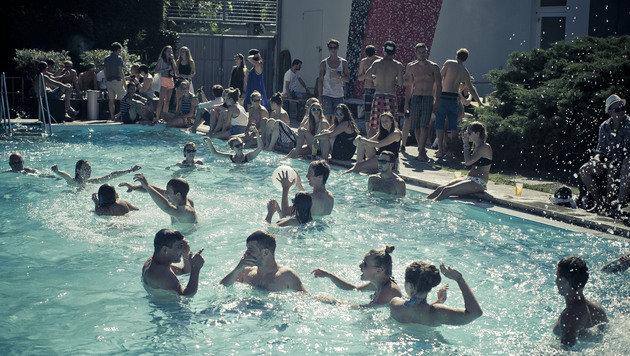 """""""Ab zur Party in die Pratersauna (Bild: Claudio Farkasch)"""""""
