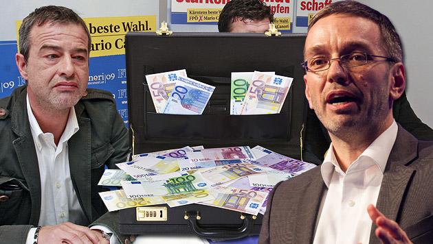 Hans Weixelbaum (links) und Herbert Kickl (rechts) (Bild: APA/GERT EGGENBERGER, APA/ERWIN SCHERIAU)