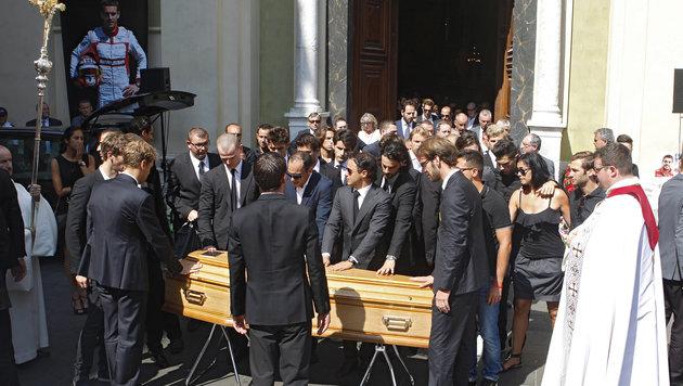 """""""Gott behüte dich, Jules"""" - Abschied von Bianchi (Bild: AP)"""