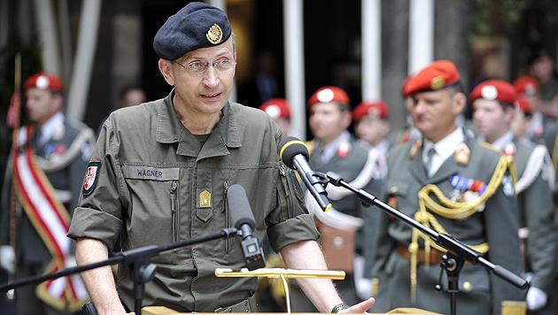 """Brigadier Kurt Wagner: Das Bundesheer steht für """"gelebte Integration"""". (Bild: APA/Bundesheer/Peter Lechner)"""
