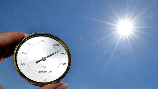 NASA: Juli war der heißeste Monat aller Zeiten (Bild: APA/Barbara Gindl)