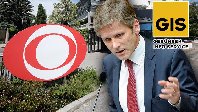 ORF-Haushaltsabgabe: Ostermayer gesprächsbereit (Bild: APA/GEORG HOCHMUTH, APA/ROLAND SCHLAGER, gis.at,)