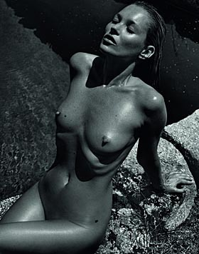 Kate Moss (Mario Sorrenti, 2012) (Bild: Viennareport)