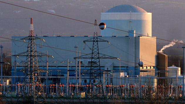 Das Atomkraftwerk Krsko in Slowenien liegt nur 110 Kilometer von Österreichs Grenze entfernt. (Bild: APA/EPA/STRINGER)