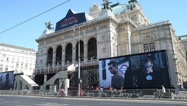 """Die Organisatoren versprechen: Die """"Mission: Impossible""""-Premiere wird """"Hollywood-like"""". (Bild: Peter Tomschi)"""