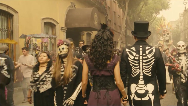 Auch Mexiko ist Schauplatz des 24. Bond-Spektakels. (Bild: Viennareport)