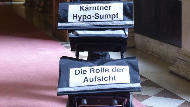 Hypo-U-Ausschuss: Viel Kritik und magere Bilanz (Bild: APA/HELMUT FOHRINGER)