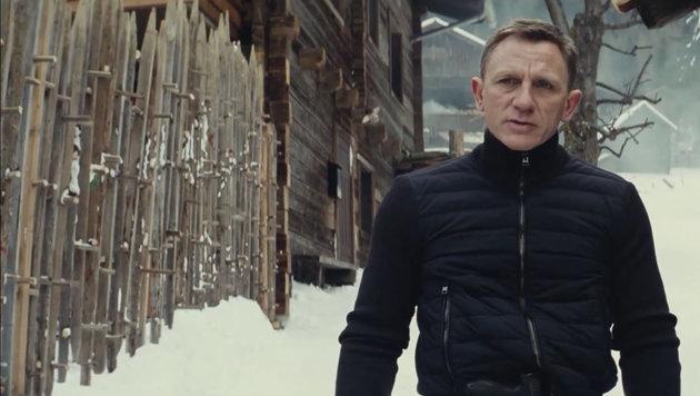 Auf einer Almhütte in Österreich sucht Bond nach seinen Wurzeln. Gedreht wurde in Obertilliach. (Bild: Viennareport)