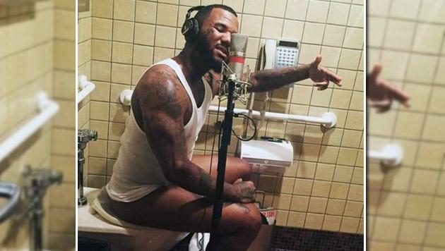 Rapper The Game produziert Album auf dem Klo (Bild: instagram.com)