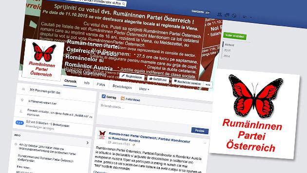 Wien-Wahl: Auch Rumänen-Partei will mitmischen (Bild: facebook.com/Rumän-Innen Partei Österreich)