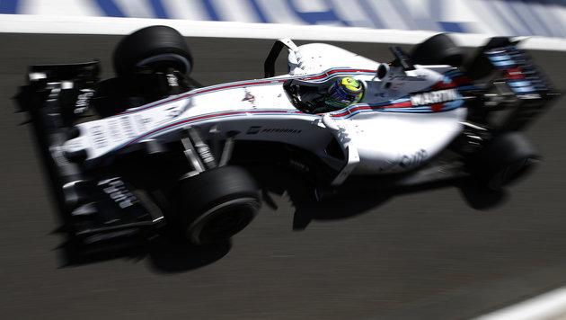 Williams-Duo rechnet sich in Ungarn Chancen aus (Bild: AP)