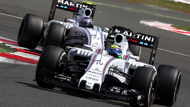 Massa kritisiert Ex-Ferrari-Kollege Alonso (Bild: APA/EPA/GEOFF CADDICK)