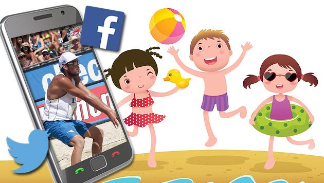 #Beachkrone! Alle Tweets aus den Social Networks (Bild: GERHARD GRADWOHL , thinkstockphotos.de)