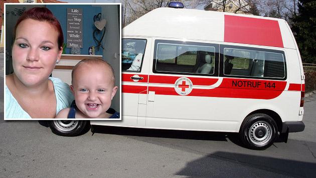 Schädelbruch: Baby wartete eine Stunde auf Hilfe (Bild: Christian Jauschowetz, Privat)