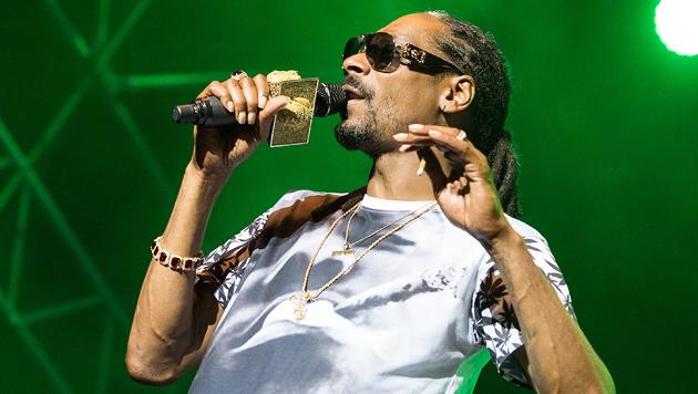 Snoop Dogg war auf Kurzbesuch in Wien (Bild: Andreas Graf)
