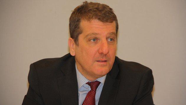 SP-Klubvorsitzender Christian Makor kritisiert die Intransparenz des Förderberichtes (Bild: Kronen Zeitung/Werner Pöchinger)