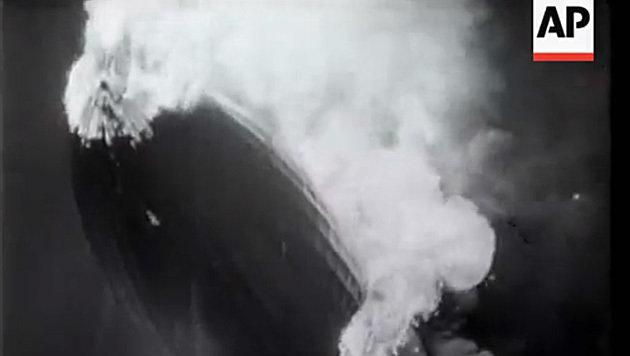 Die Hindenburg-Katastrophe ist nur eines von vielen historischen Ereignissen im AP-Archiv. (Bild: YouTube.com/British Movietone)