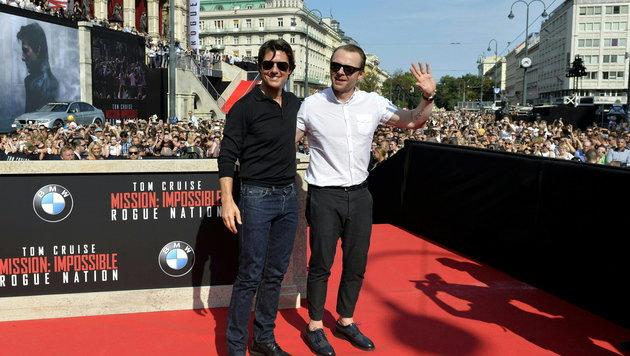 """Mission: Impossible"": Wien im Hollywood-Fieber (Bild: APA/EPA/HERBERT NEUBAUER)"