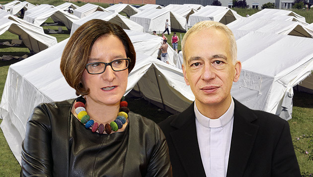 Appelle zur Besonnenheit im hitzigen Asyl-Konflikt (Bild: APA/HANS PUNZ, Uta Rojsek-Wiedergut, Peter Tomschi)