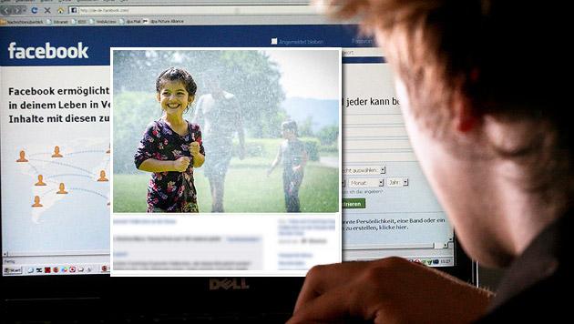 Ein Hass-Posting zum Bild einer Flüchtlingsaktion kostete einem Lehrling seinen Job. (Bild: dpa, facebook.com)