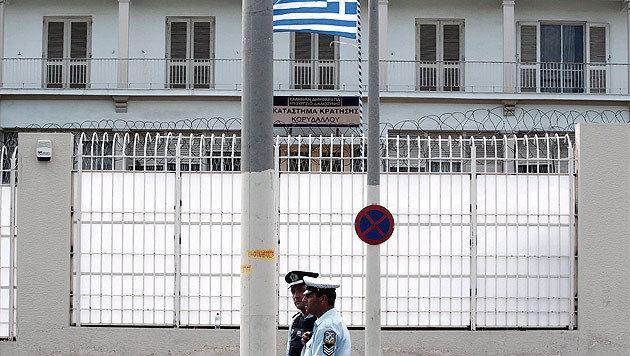 Koridallos-Gefängnis in Athen (Bild: ALKIS KONSTANTINIDIS/EPA/picturedesk.com)