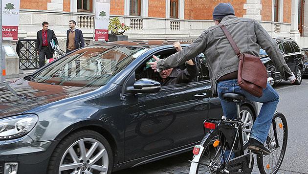 """Dramatisch mehr Radunfälle - wegen """"Unachtsamkeit"""" (Bild: Klemens Groh)"""