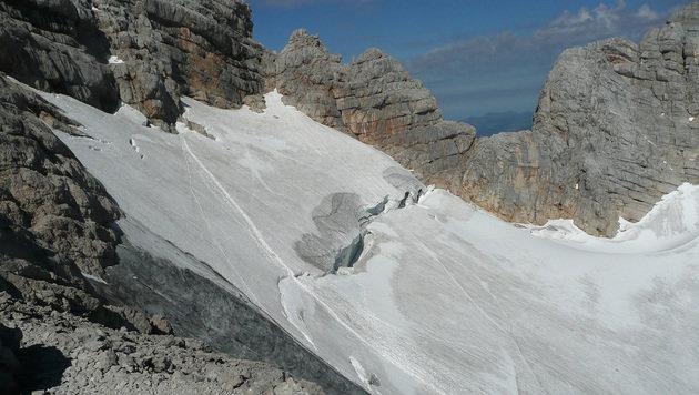 Die Unfallstelle auf einem Archivbild (Bild: …APA/Österreichischer Bergrettungsdienst)