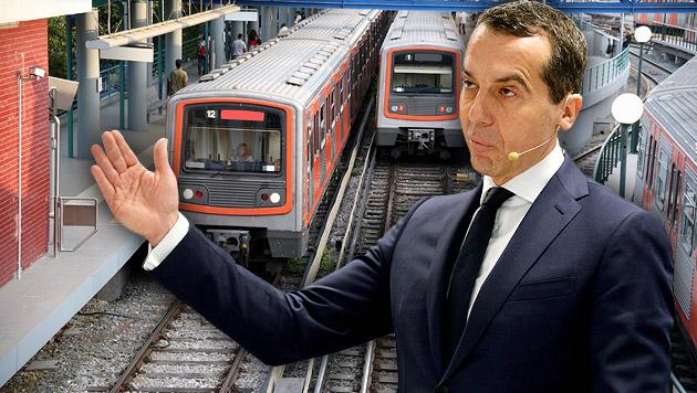 ÖBB wollen griechische Bahn - aber nur geschenkt (Bild: APA/ROLAND SCHLAGER, thinkstockphotos.de)
