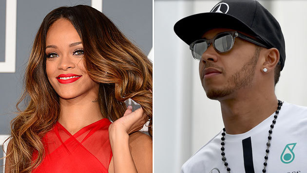 Rihanna und Lewis Hamilton sollen sich heimlich treffen. (Bild: AFP)