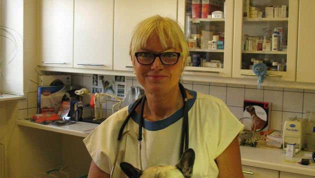 Tierärztin Susanne Barth-Ruth (Bild: Susanne Barth-Ruth)