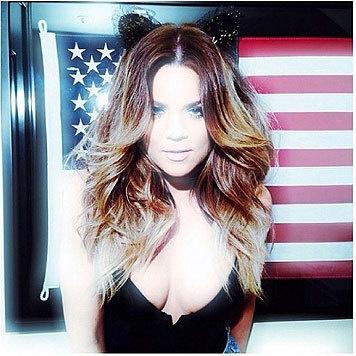 Khloe Kardashian zeigt sich auf Instagram gerne von ihrer sexy Seite. (Bild: Viennareport)