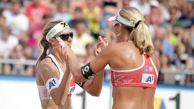Stefanie Schwaiger und Barbara Hansel (Bild: APA/GEORG HOCHMUTH)