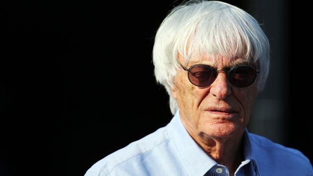 Bernie Ecclestone dankt Mercedes für Niederlage (Bild: GEPA)
