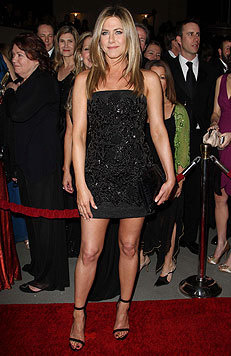 Jennifer Aniston bleibt nur der undankbare vierte Platz. (Bild: Viennareport)