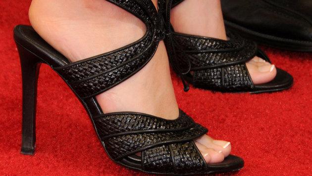 Die schönsten Promi-Füße gehören ... (Bild: Viennareport)