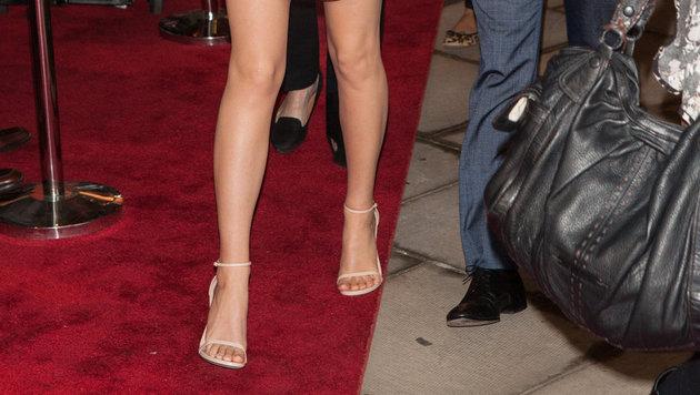 Fußliebhaber haben auf der Seite wikifeet.com 300.000 Promi-Füße angeschaut und entschieden, dass... (Bild: Viennareport)