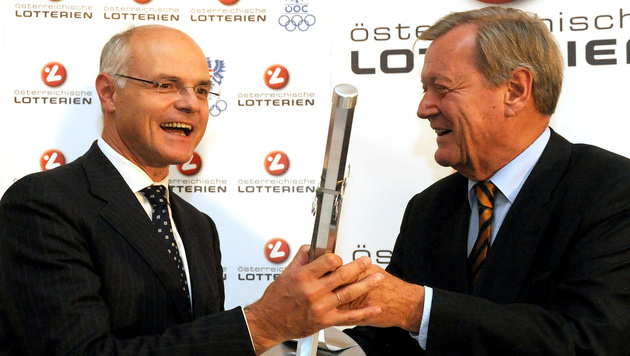 Ex-ÖOC-Präsident Leo Wallner verstorben (Bild: APA/HERBERT PFARRHOFER)