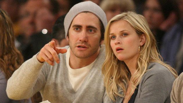 Jake Gyllenhaal und Reese Witherspoon sorgten 2007 für Aufregung in einem Flugzeug. 11 Minuten lang. (Bild: Viennareport)