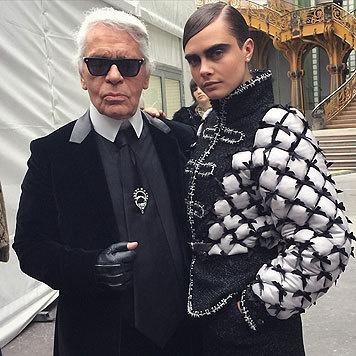 Cara Delevingne darf sich als Karl Lagerfelds Muse bezeichnen. (Bild: Viennareport)