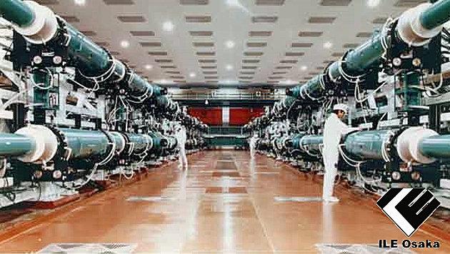 Japaner feuerten den stärksten Laser der Welt ab (Bild: ILE Osaka)