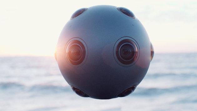 Nokia kündigt Virtual-Reality-Profikamera an (Bild: Nokia)