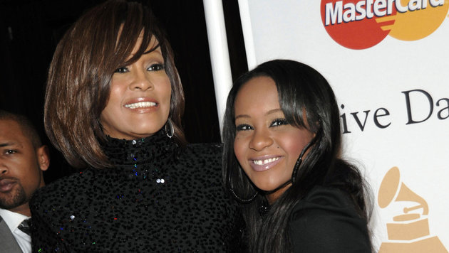 Whitney Houston mit Tochter Bobbi Kristina Brown (Bild: AP)
