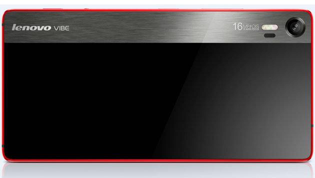 Die Kamera des Vibe Shot kommt mit optischem Bildstabilisator und mächtigem Dreifach-LED-Blitz. (Bild: Lenovo)