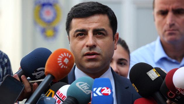 Selahattin Demirtas, der Chef der Kurdenpartei HDP (Bild: AP)