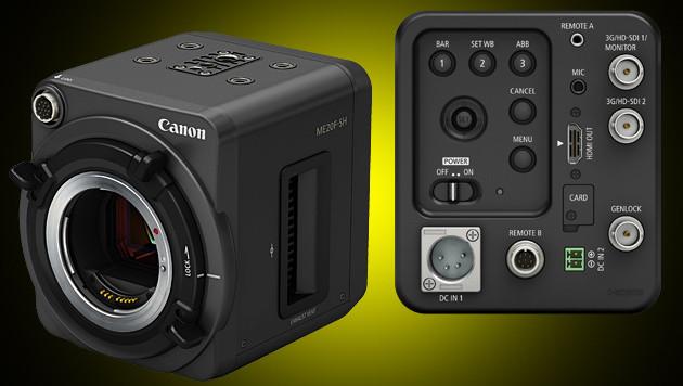Canon ME20F-SH: Farbige Filme selbst im Dunkeln (Bild: Canon, krone.at-Grafik)