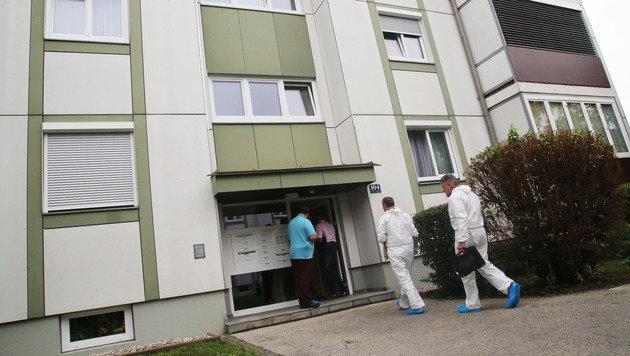 In diesem Haus wurden die Leichen des Ehepaares gefunden. (Bild: Uta Rojsek-Wiedergut)