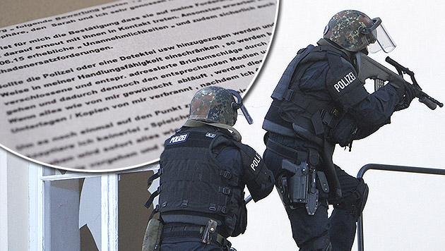 Polizei legt siebenfachem Erpresser das Handwerk (Bild: LPD Salzburg, APA/ROBERT JAEGER (Symbolbild))