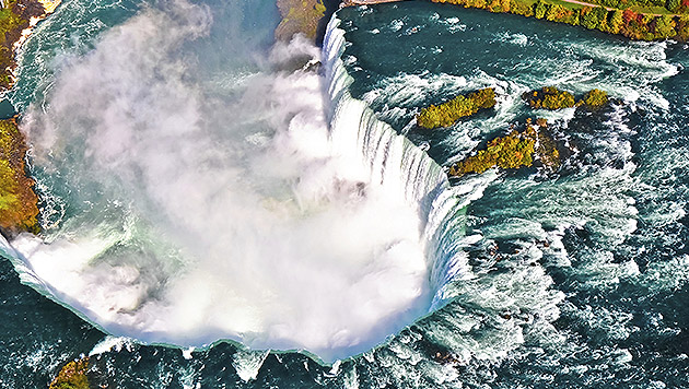Niagarafälle: Donnernde Fluten der Liebe (Bild: thinkstockphotos.de)
