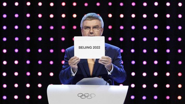 Olympische Spiele 2022 finden in Peking statt (Bild: AP)