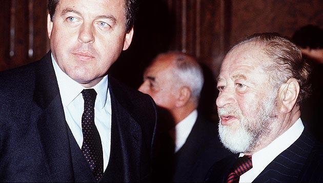 """Kreisky über Vranitzky: """"Managertyp, ideologisch aber nicht genügend fundiert"""" (Bild: APA)"""